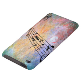 abstract music barely there iPod cover