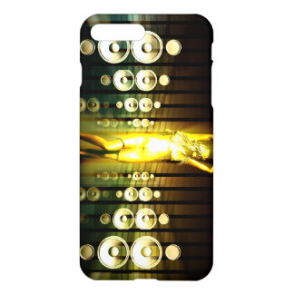 Abstract Music Dance Background for a Music Event iPhone 7 Plus Case
