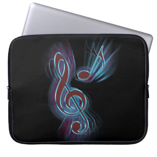 Abstract music. laptop sleeve