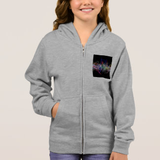 Abstract Music Note Hoodie