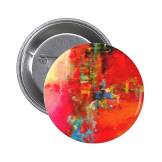 Abstract Nature Landscape creation 6 Cm Round Badge