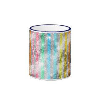 Abstract Nebula MultiColors Stripes Pattern Mugs
