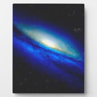 Abstract Nebulla with Galactic Cosmic Cloud 26 Plaque
