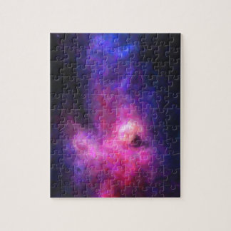 Abstract Nebulla with Galactic Cosmic Cloud 27 Jigsaw Puzzle