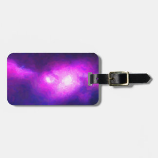 Abstract Nebulla with Galactic Cosmic Cloud 28 Luggage Tag