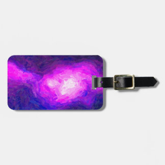 Abstract Nebulla with Galactic Cosmic Cloud 28a.jp Luggage Tag