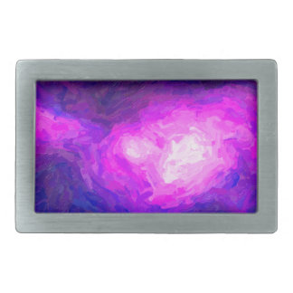 Abstract Nebulla with Galactic Cosmic Cloud 28a.jp Rectangular Belt Buckle