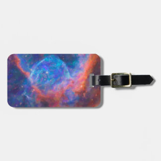 Abstract Nebulla with Galactic Cosmic Cloud 29 Luggage Tag