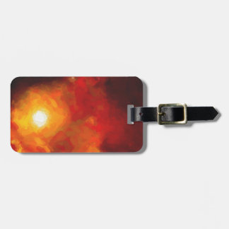 Abstract Nebulla with Galactic Cosmic Cloud 30 Luggage Tag