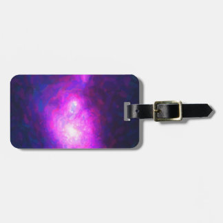 Abstract Nebulla with Galactic Cosmic Cloud 36 Luggage Tag