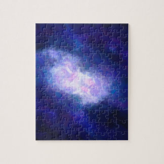 Abstract Nebulla with Galactic Cosmic Cloud 38 Jigsaw Puzzle