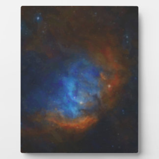 Abstract Nebulla with Galactic Cosmic Cloud 39 Plaque