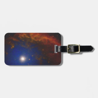 Abstract Nebulla with Galactic Cosmic Cloud 40 Luggage Tag