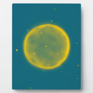 Abstract Nebulla with Galactic Cosmic Cloud 41 Cir Plaque