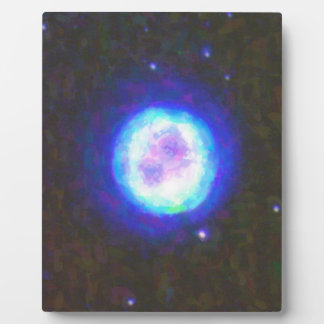 Abstract Nebulla with Galactic Cosmic Cloud 42 Sph Plaque
