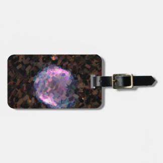 Abstract Nebulla with Galactic Cosmic Cloud 43 Sph Luggage Tag