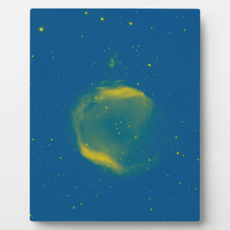 Abstract Nebulla with Galactic Cosmic Cloud 43 Sph Plaque