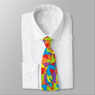 Abstract Necktie
