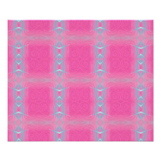 Abstract neon pink teal geometrical pattern. photograph