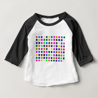 Abstract Noisy Color Palette Baby T-Shirt