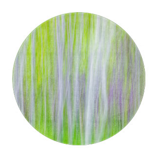 Abstract of Aspen Trees | Yakima River Trail, WA Cutting Board