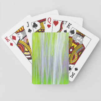 Abstract of Aspen Trees | Yakima River Trail, WA Playing Cards