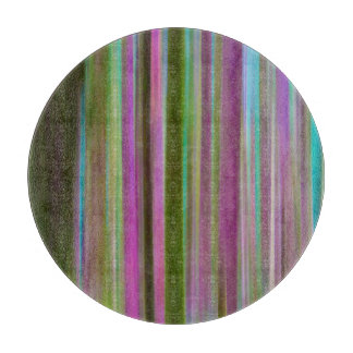 Abstract of Hoh Rain Forest at Dusk | Washington Cutting Board