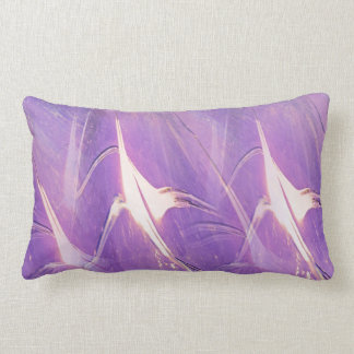 Abstract Of Lights Lumbar Cushion