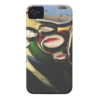 Abstract Oils Primary Colors Blackberry Bold Case