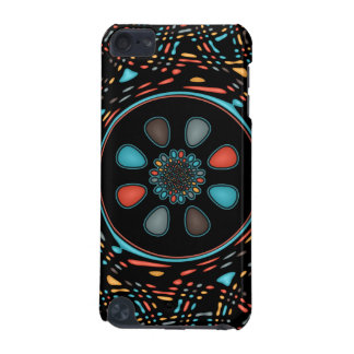 Abstract on black iPod touch (5th generation) cases