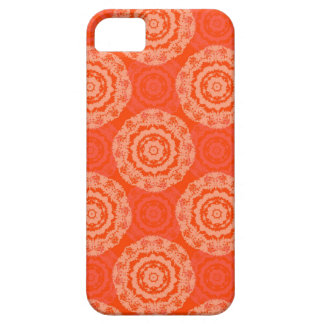 Abstract Orange Case For The iPhone 5