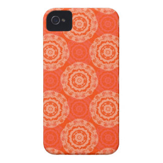 Abstract Orange Case-Mate iPhone 4 Cases