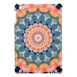Abstract Orange Mandala iPad Mini Cover