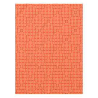 Abstract Orange Tablecloth