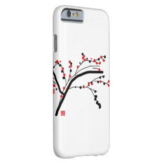 Abstract orchid flower barely there iPhone 6 case