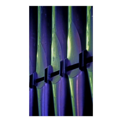 Abstract Organ Pipes Posters