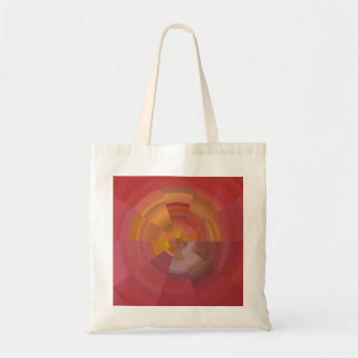 Abstract ornament budget tote bag
