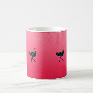 Abstract Ostrich Mug