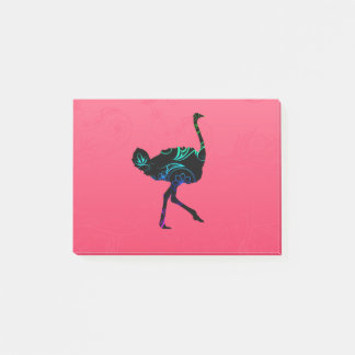 Abstract Ostrich Post-it® Notes
