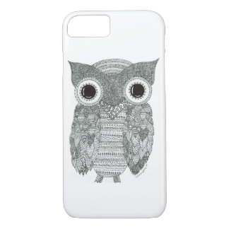 Abstract Owl iPhone 7 Case