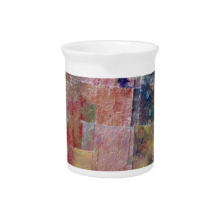 abstract paint background pitcher