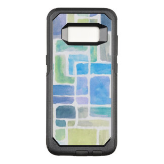 Abstract painted watercolor background. OtterBox commuter samsung galaxy s8 case