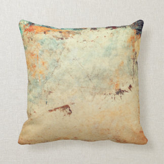 Abstract Painterly Pillow in Earth Tones Cushions