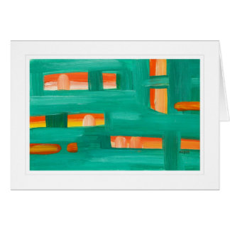 Abstract Painting 02 Greeting Cards