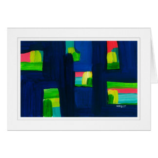 Abstract Painting 03 Greeting Card