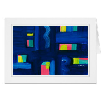 Abstract Painting 04 Greeting Card