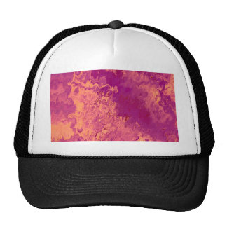 Abstract Painting 04 peach Hats