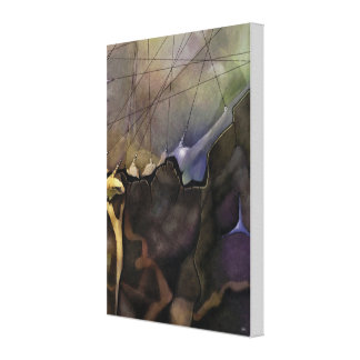 Abstract Painting # 2 Right from Set of 2 Canvas Print
