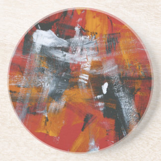 Abstract Painting 57 Shaken Up Coaster