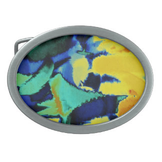 Abstract Painting | Abstract Art 20 Belt Buckle